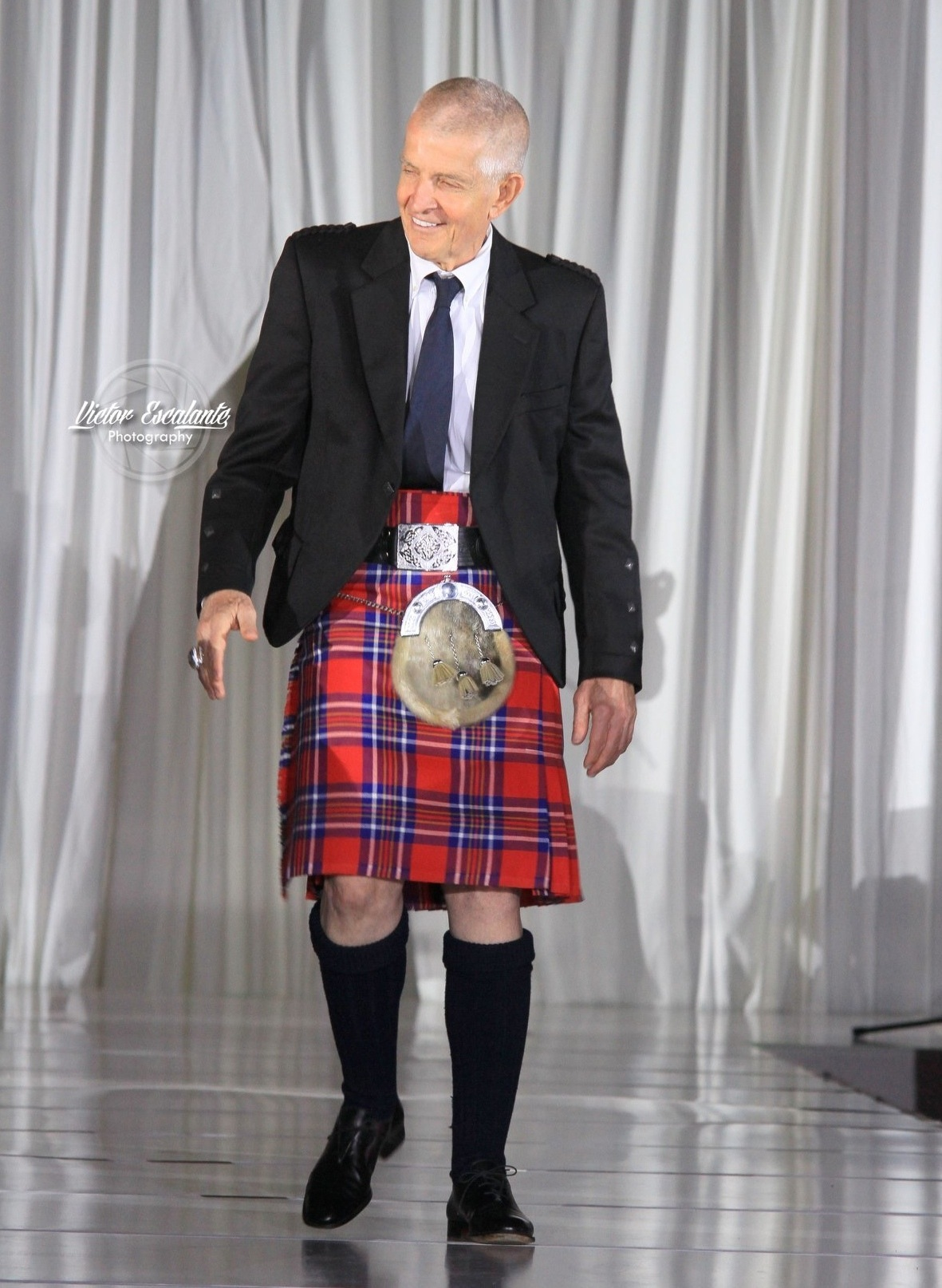 Dressed to Kilt at Million Air ~ The Runway Show - BethieLife