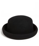 shop the look black hat