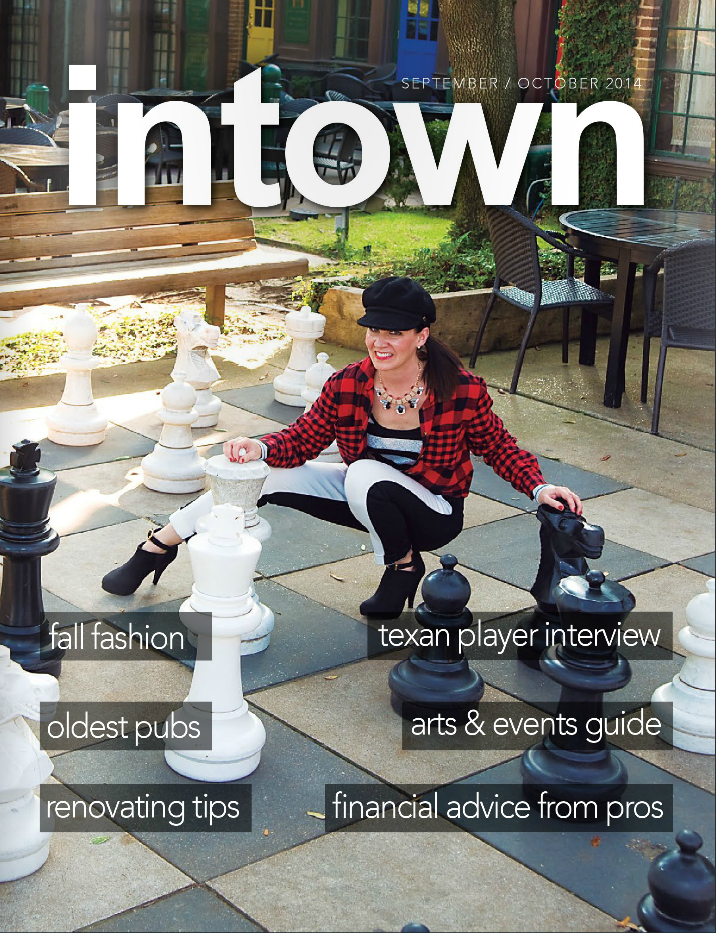 in town magazine features BethieLife in September/October 2014 issue