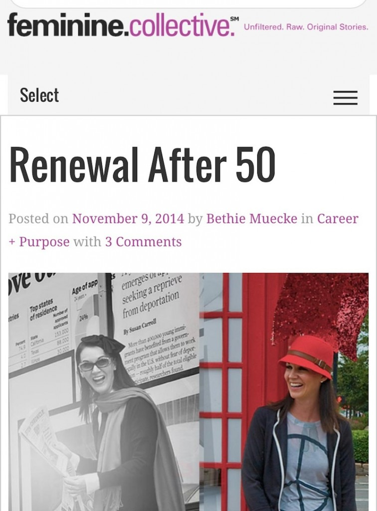 Feminine Collective: Renewal After 50 - BethieLife