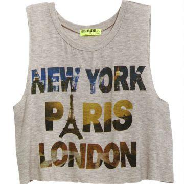 NY, Paris, London Tee