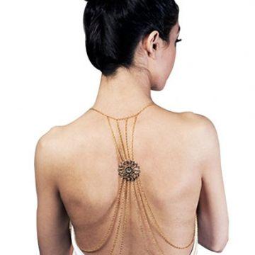 Triple Layer Tassel Body Chain
