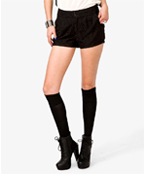 shop the look lace shorts