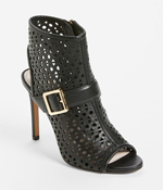 shop the look leather bootie