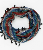Shop the look Baja Blanket Scarf by Urban Outfitters.