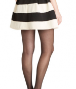 Shop the look ModCloth Stripe It Lucky Skirt.