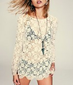 Shop the look lace tunic