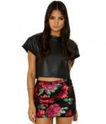 shop the look mini skirt